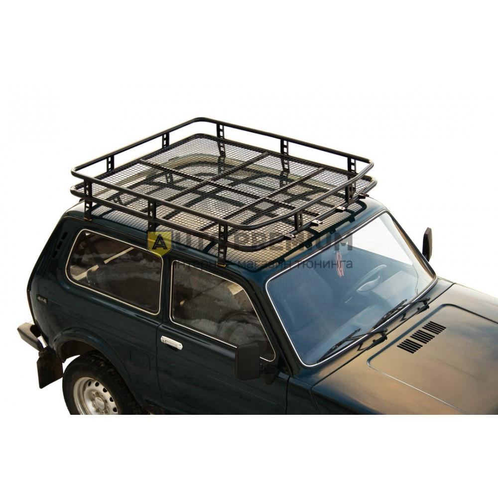 Багажник экспедиционный «Трофи» с сеткой 21214