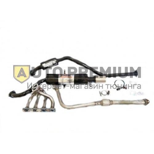 Выпускной комплект ВАЗ 2110-11-12 16v 1,5л с глушителем
